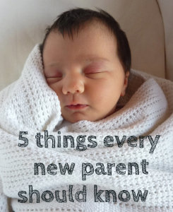 The five things every new parent should know and other hilarious columns